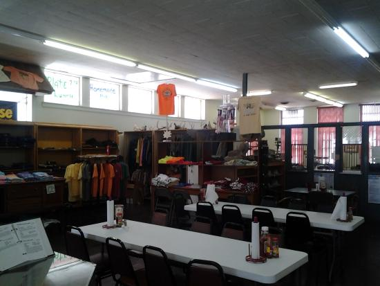 Dumas, AR: The Pickens Store offers clothing, footwear, and lots of tourist memorabilia.