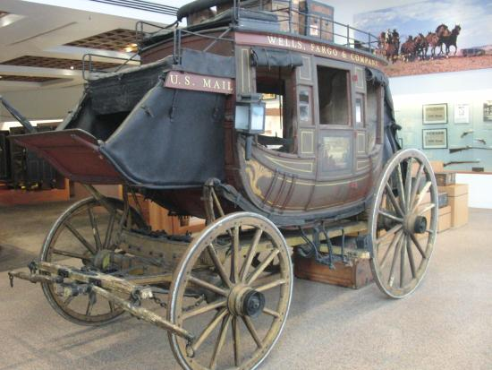 Wells Fargo Stagecoach Picture Of Wells Fargo History Museum Los