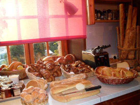 Montcavrel, France: petit dejeuner