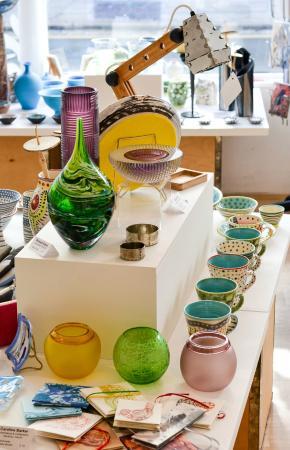 45 Southside Gallery: Ceramics, Glass, Metalwork, Textiles, Wood