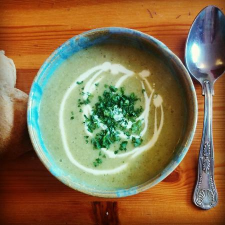 The Green Way Cafe: Broccoli and Cashew Soup