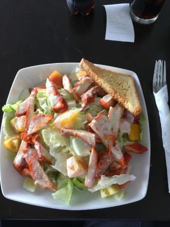 Shell Beans: Chicken Tikka Salad
