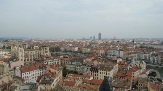 Auberge de Jeunesse de Vieux Lyon : Aussicht auf Lyon