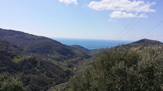 Национальный парк Чиленто и Валло-ди-Диано, Италия: Blick zum Meer