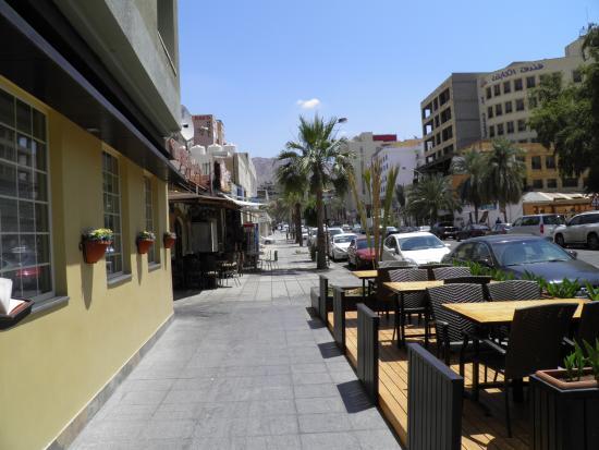 floka seafood restaurant : Outside the restaurant