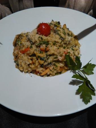 Spagho : risotto aux légumes