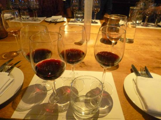 Wine fort tasting