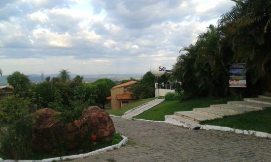 Crato, CE: Vista do hotel