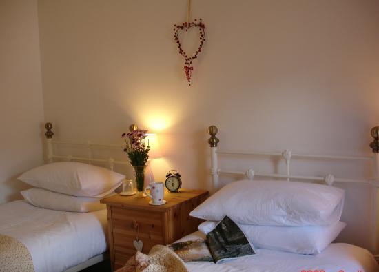 Basset Cottage B&B: Pink Room