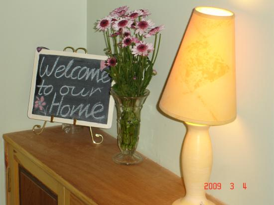 Basset Cottage B&B: Welcome
