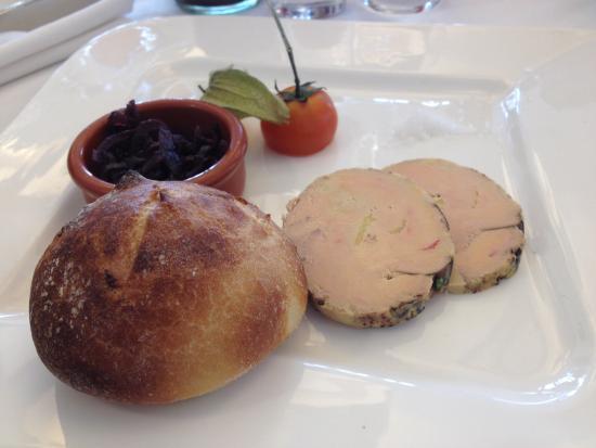Le Bout du Quai : Foie gras cuit au chalumeau