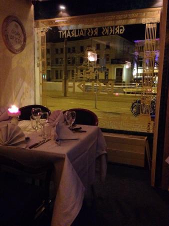 Delphi : Interno del ristorante