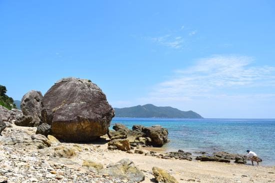 加計呂麻島, 陸路ではアクセスしづらいビーチ。シーカヤックで。