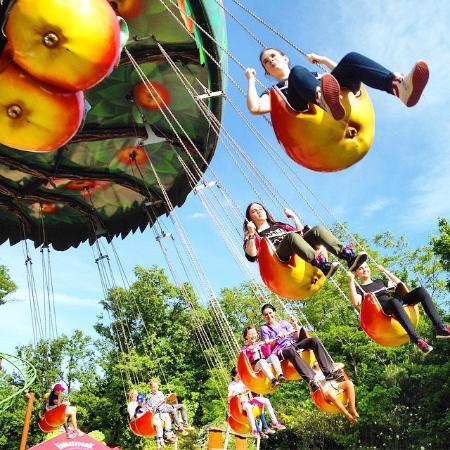 Familypark: Apple chain carousel