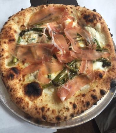 Lambertville, NJ: Daily Special - Asparagus, Buffalo Mozzarella, & Prosciutto