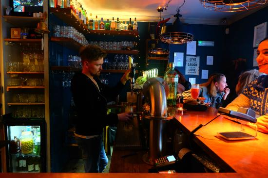 bar at Kaldi - Picture of Kaldi Bar, Reykjavik - TripAdvisor