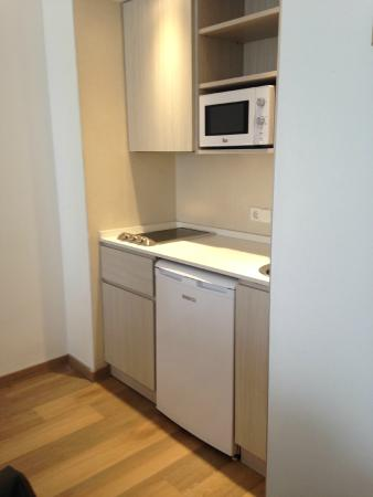 Aparthotel Diamant: cucina