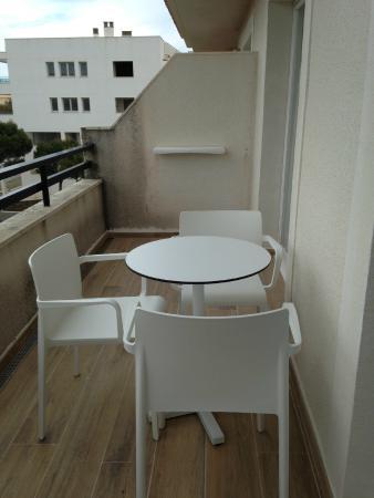 Aparthotel Diamant: terrazzo
