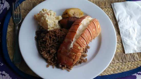 Остров Крукид: Lobster dinner at Tranquility on the Bay