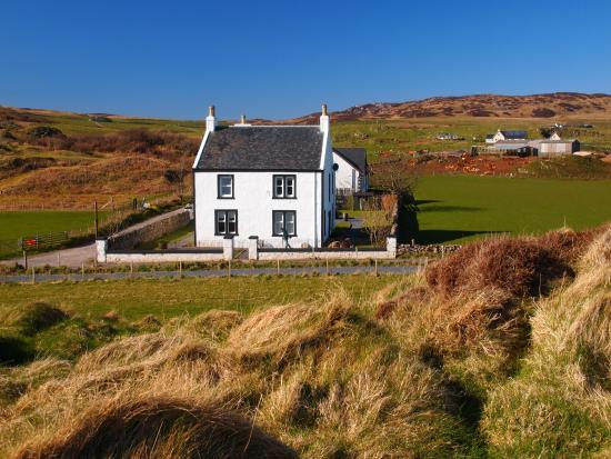Laphroaig, UK: The House (from the MacDougall Monument)