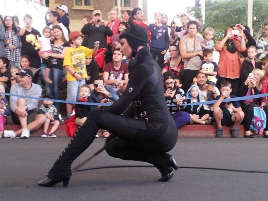 Oxenford, Australia: Catwoman at Movie World Meow!!