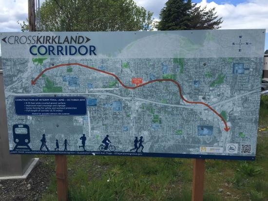 ‪Cross Kirkland Corridor Trail‬
