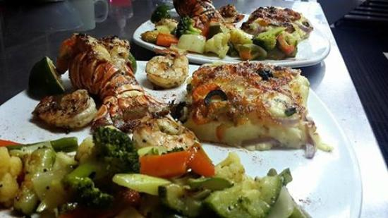 Talamanca Reserve: Lobster tail/ Shrimp