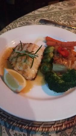 Sea Grass Grille: Seafood dish
