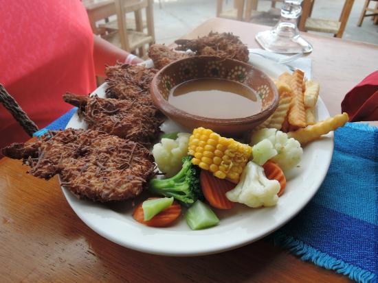 Roy's Restaurant: Coconut shrimp