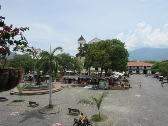 Hotel Caseron Plaza: View from Hotel Balcony