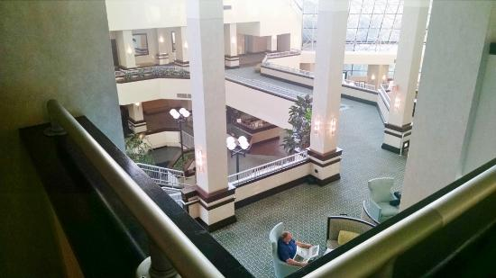 Crowne Plaza St Louis Airport: atrium