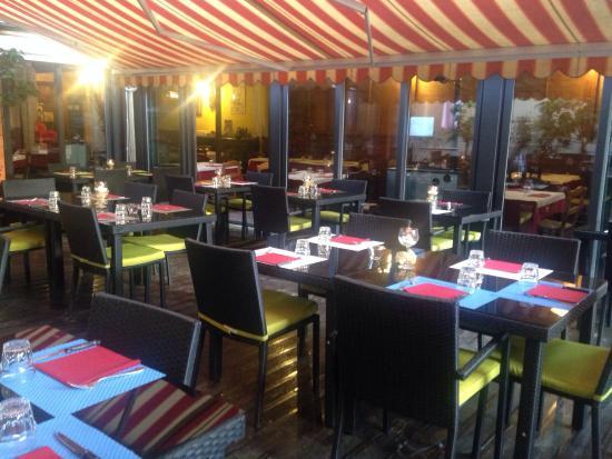Pizzeria steak house I due Gabbiani : Giardino