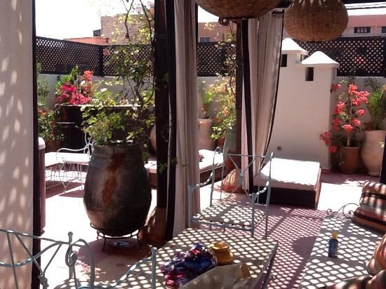 jacuzzi et terrasse picture of villa el gada marrakech tripadvisor. Black Bedroom Furniture Sets. Home Design Ideas