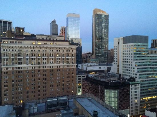 View From 28th Floor Picture Of Hilton Garden Inn New York West 35th Street New York City