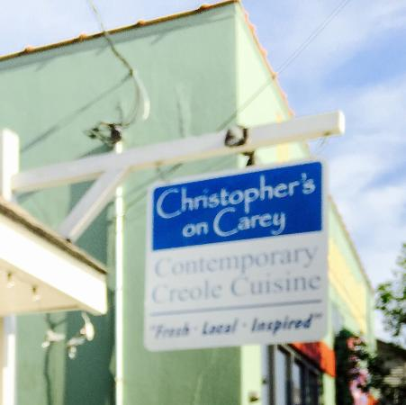 Christopher's on Carey: Contemporary creole cuisine yep!