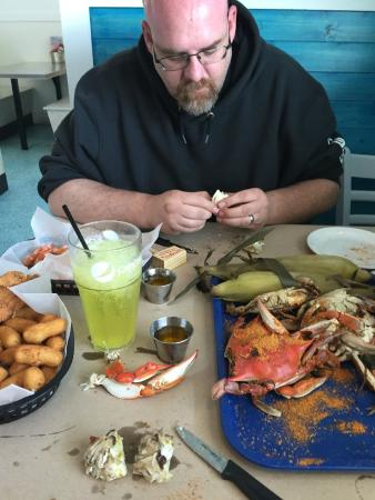 Waterman's Seafood Co: The crabs & shrimp were amazing!