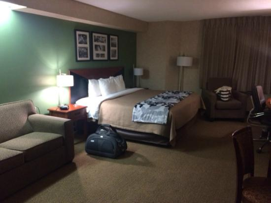 Sleep Inn: Nice comfy room