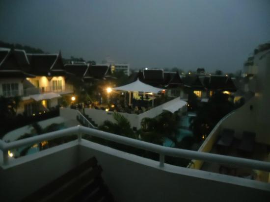 Phunawa Resort: view from room at night