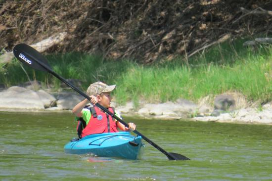 BentRiver Outfitter : Trip was very child-friendly!
