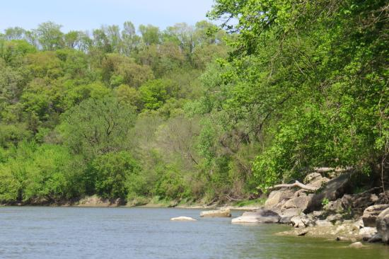 BentRiver Outfitter : View of the river