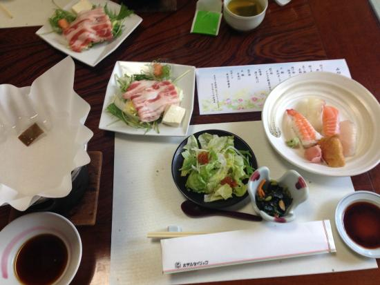 Hotel Seiryu: 料理の一部