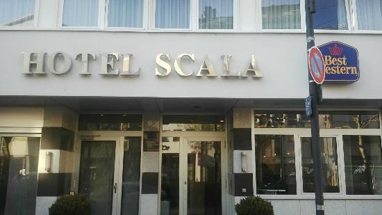 Favored Hotel Scala: Entrada al hotel
