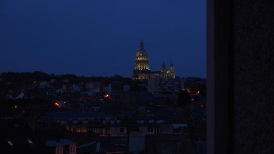 Nôtre Dame de Boulogne : Точка съемки на 6 этаже у порта
