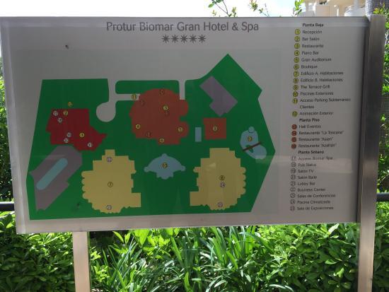Protur Biomar Gran Hotel & Spa: Directory