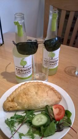 Sails Cafe: cool Cider with your pasty!