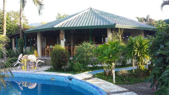 Rio Claro, Costa Rica : Pool & Restaurant
