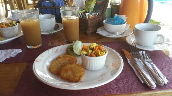 Rio Claro, Kosta Rika: Frühstück