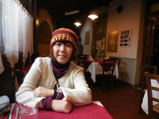 Trattoria Via dell'Amore: Inside the trattoria
