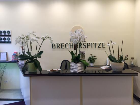 Brecherspitze Hotel: Rezeption