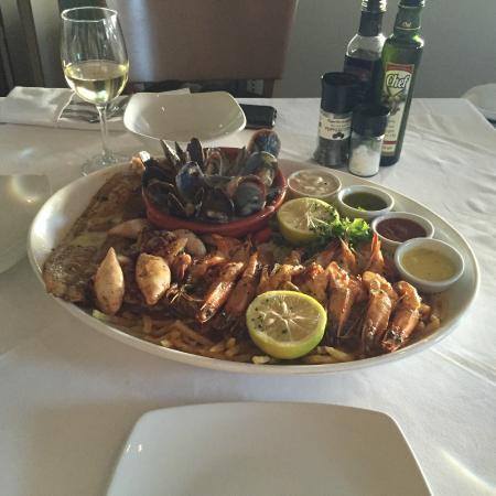 Spetada: Seafood platter